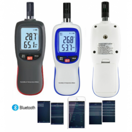 China Bluetooth Humidity &Temperature Meter Bluetooth Humidity &Temperature Meter company