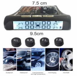 China Solar Power Car TPMS Tire Pressure Monitoring System  Solar Power Car TPMS Tire Pressure Monitoring System  company