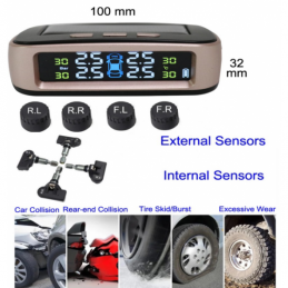 China Truck Tire Pressure Monitoring System External / internal Sensors Truck Tire Pressure Monitoring System External / internal Sensors company