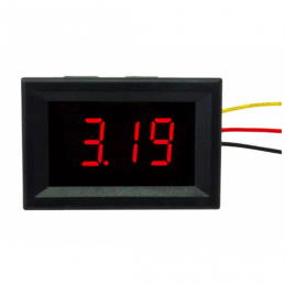 China 0.36 inch Digital Voltmeter Red  LED Display DC 0-100V with Three Wires 0.36 inch Digital Voltmeter Red  LED Display DC 0-100V with Three Wires company
