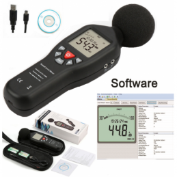China Sound Level Meter with Data Logger Sound Level Meter with Data Logger company