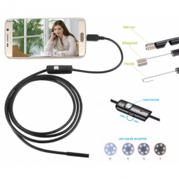 China 5.5mm USB Endoscope Pipe Inspection Camera  Waterproof Borescope Snake tube Camera for Android  phon 5.5mm USB Endoscope Pipe Inspection Camera  Waterproof Borescope Snake tube Camera for Android  phon company