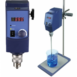 China Laboratory 20L Digital Overhead Stirrer with base and agitator Laboratory 20L Digital Overhead Stirrer with base and agitator company